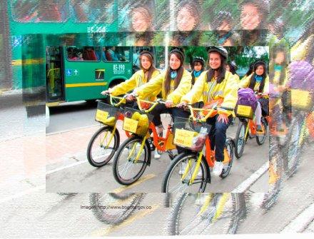 Distrito y más de 1500 padres de familia se unen para fortalecer 'Al colegio en bici'