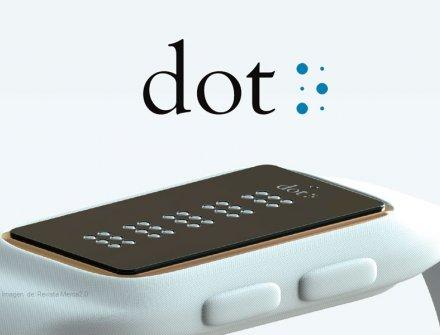 Dot, el primer reloj inteligente para invidentes