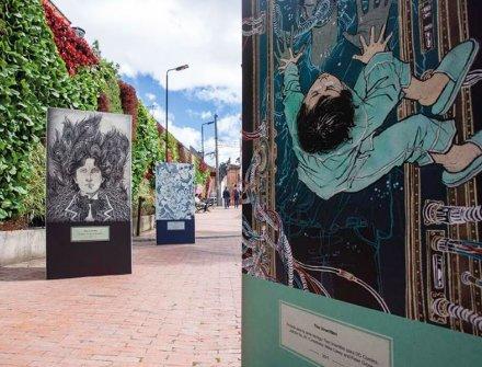En Bogotá se puede visitar la exposición de ilustración de Yuko Shimizu