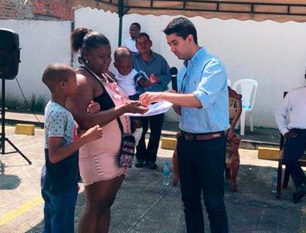 En el Cauca, 354 familias reciben viviendas 100% subsidiadas por el Gobierno Nacional