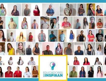 Estos son los 12 ganadores del reconocimiento 'Educadores que Inspiran'