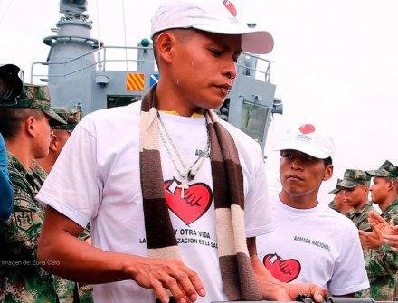 Finaliza la guerra: las Farc hace la entrega de su armamento