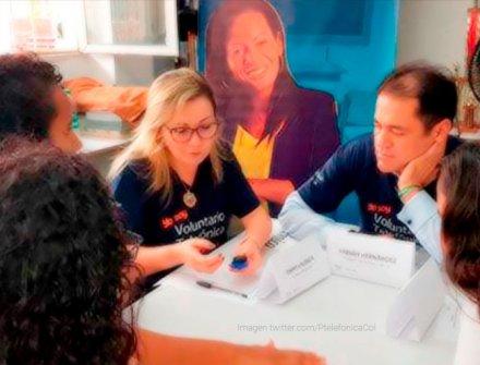 Fundación Telefónica hizo un reconocimiento a la IEO Simón Rodríguez