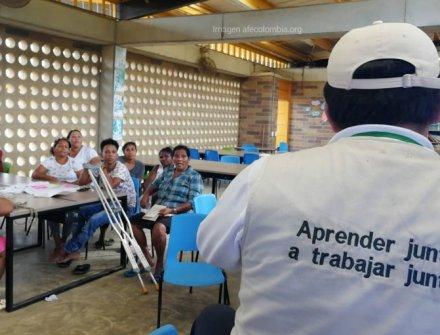 La comunidad educativa de Siete Vueltas se capacitó en educación inclusiva