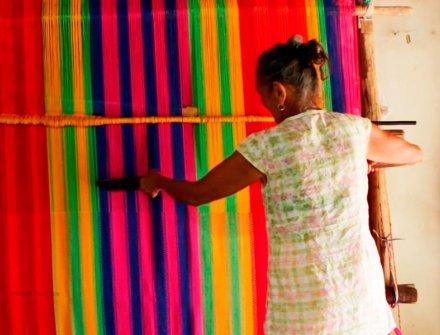 La mujer detrás de las famosas hamacas de Morroa, presentes en Expoartesanías