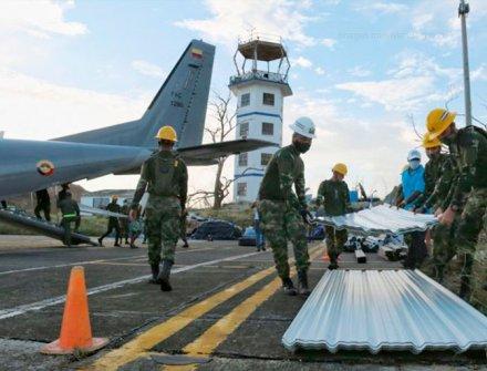 Llegan primeras casas a la isla de Providencia