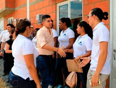 MinVivienda entregó viviendas del programa Mi Casa Ya en Jamundí