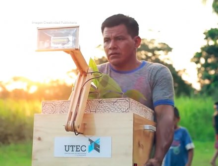 'Plantalámpara' fuente de electricidad para poblados de la Selva Amazónica