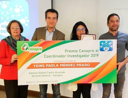 Premio Canapro al Coordinador Investigador 2019