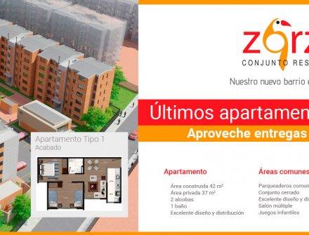 El Zorzal, conjunto residencial