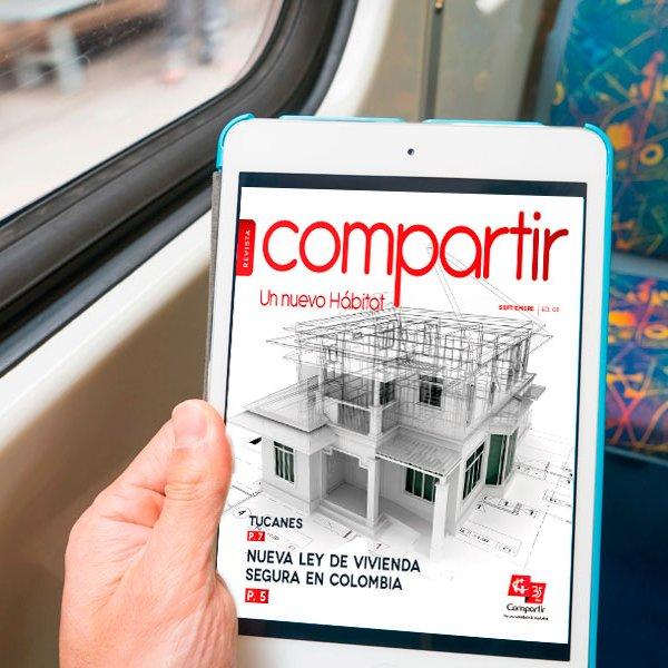Compartir presenta la edición n°1 de su revista de Hábitat