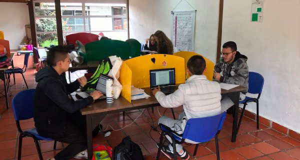 A explorar el Colegio Fontán Capital, en Bogotá