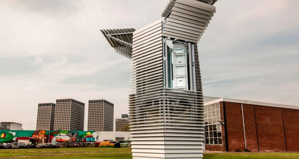 Aire limpio en China con Smog Free Tower