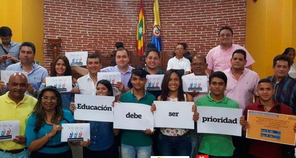 Así terminó en Cartagena Todos por la Educación