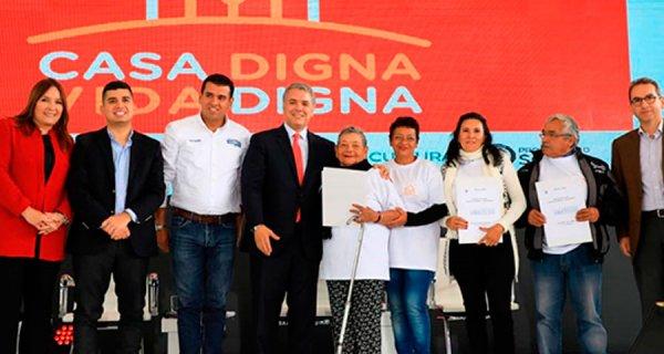 'Casa Digna Vida Digna', nuevo programa de vivienda del gobierno colombiano