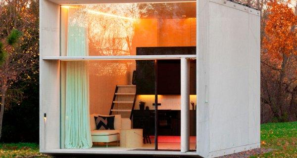 Casa portátil, sostenible y armable en 7 horas