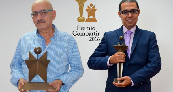 Ganadores del Premio Compartir 2016
