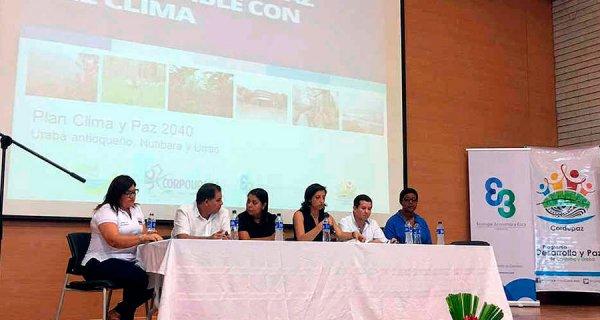 Clima y Paz 2040, el plan para reparar Urabá