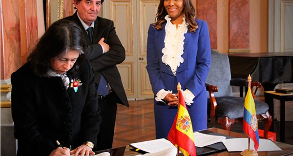 Colombia y España fortalecen sus relaciones académicas y culturales
