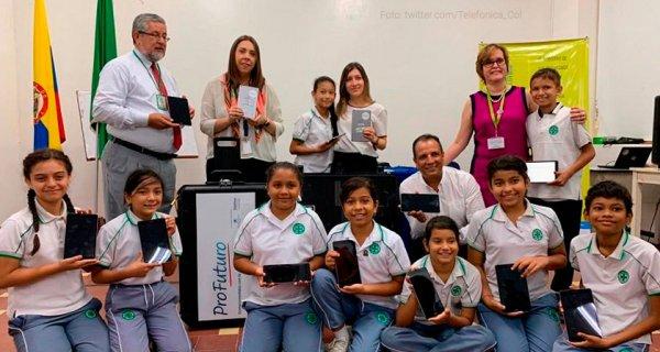 Con educación digital Fundación Telefónica Movistar beneficia a 12 mil niños en Bucaramanga
