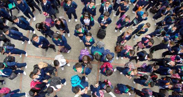 El Colegio Compartir Suba se mueve