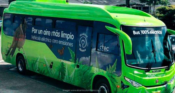 El primer bus eléctrico del Eje Cafetero ya rueda