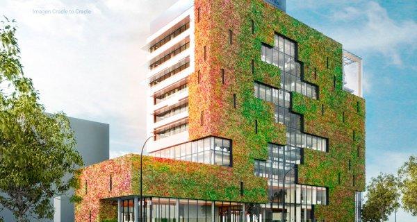 """El primer edificio de América Latina diseñado con el modelo """"Cradle to Cradle"""""""