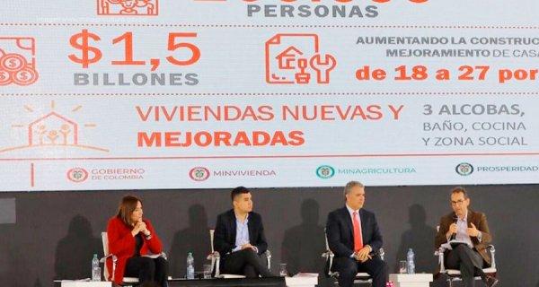 El programa 'Casa Digna Vida Digna' comenzó su operación en Valledupar, Colombia
