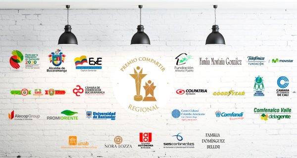 En las regiones también tenemos aliados del Premio Compartir