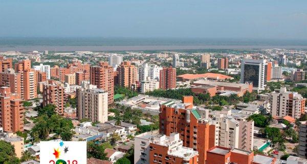 Escenarios de los Juegos Centroamericanos 2018