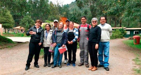Intercambio de experiencias entre cooperativas en Nobsa