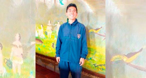 Juan Pablo, estudiante de la IECS, viajará a España