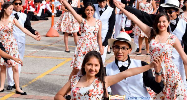 Juegos Coreográficos en Colegio Compartir Suba