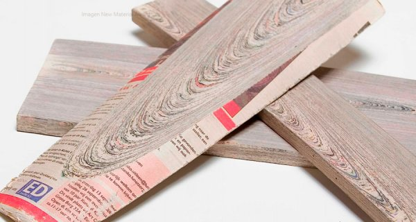 Kranthout, el papel de periódico hecho madera