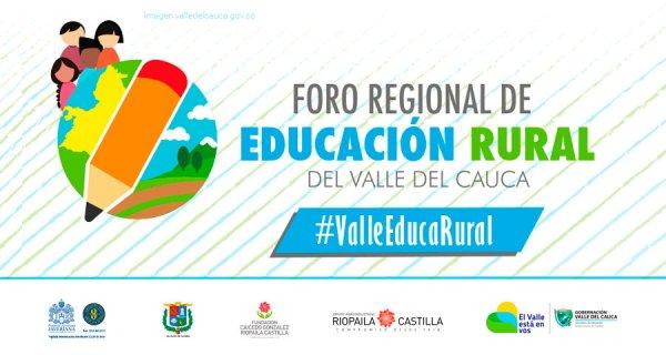 La Fundación Compartir invitada al Foro de Educación Rural en el Valle del Cauca