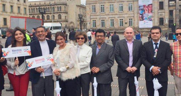 La Fundación Compartir también firmó la Paz