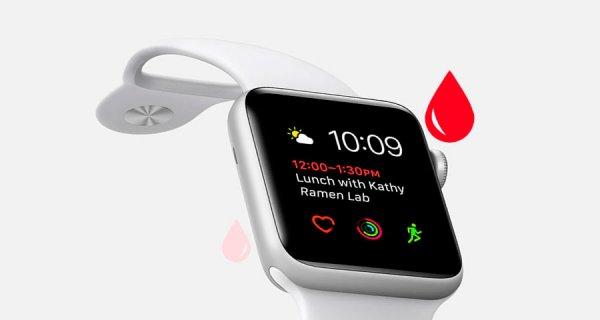 Los futuros Apple Watch podrían mostrar los niveles de glucosa en la sangre
