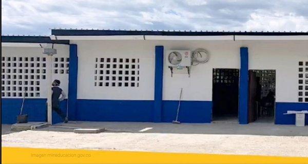 MinEducación entrega mejoramiento de la Institución Educativa San Cayetano en Bolívar