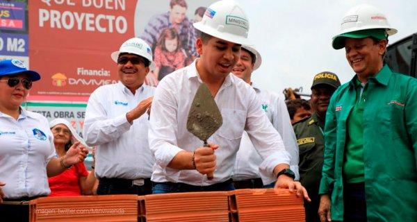 Minvivienda visitó el Cesar para llevar inversiones de vivienda y apoyar la construcción