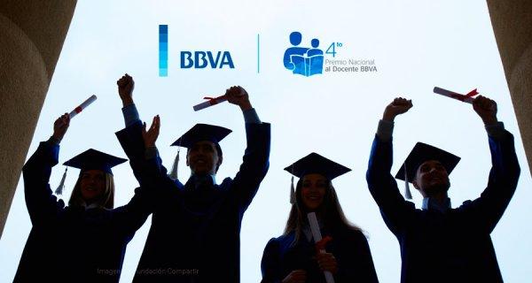 ¡Postúlese al Premio Nacional al Docente BBVA!