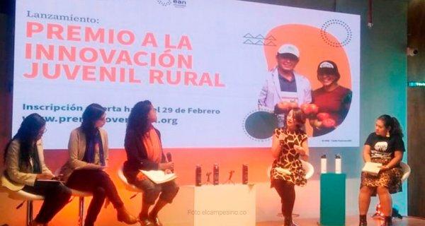 Premio a la Innovación Juvenil Rural, una apuesta por el desarrollo del campo