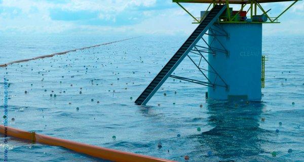 Propuesta para limpiar los océanos