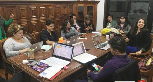 Todos por la Educación con los voluntarios en Bogotá