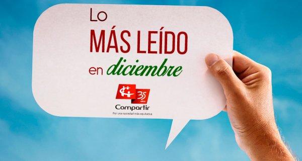 Top 5 Compartir: lo más leído en diciembre
